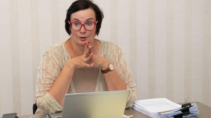 Korruptsioonivastase erikomisjoni esimees Katri Raik