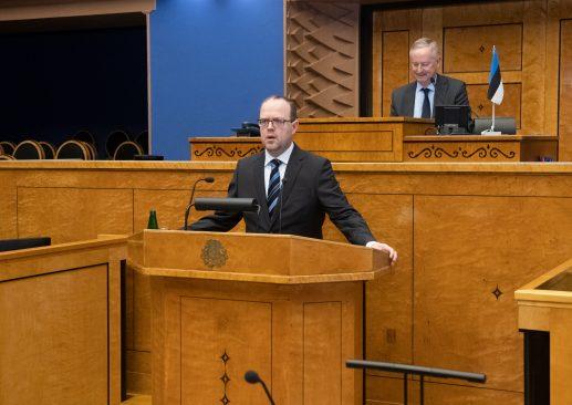 Riigikohtu liikme Juhan Sarve ametivanne. Foto: Erik Peinar
