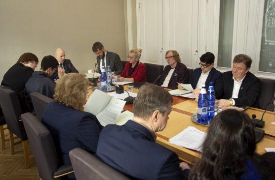 Sotsiaalkomisjoni istung. Foto: Riigikogu Kantselei