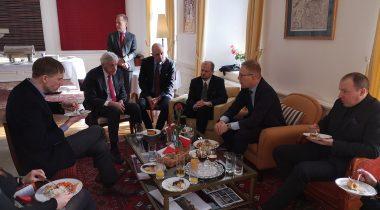 Riigikaitse- väliskomisjoni liikmed kohtusid Pierre Vimont'iga