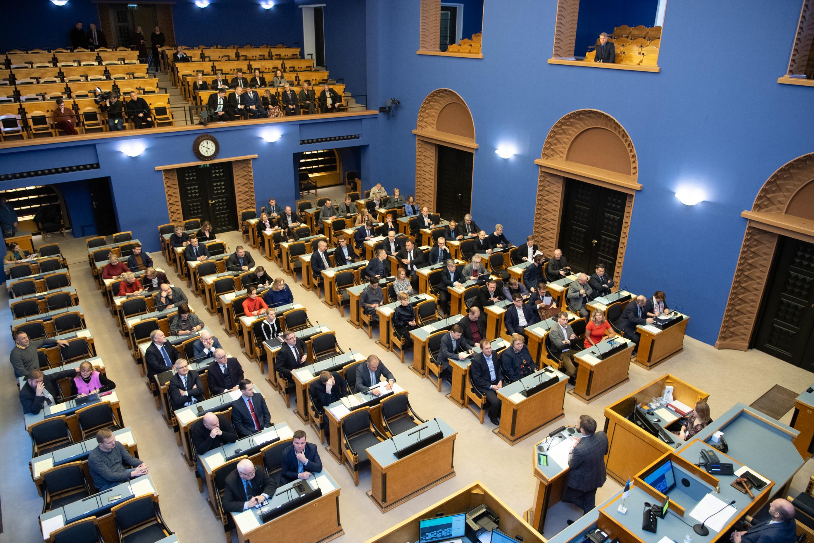 Riigikogus läbis esimese lugemise saadikute julgeolekukontrolli puudutav eelnõu