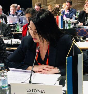 Euroopa Liidu asjade komisjoni esimees Anneli Ott. Foto: Riigikogu Kantselei