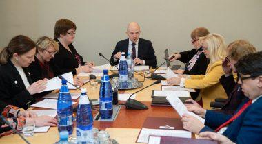 Sotsiaalkomisjoni istung. Foto: Erik Peinar