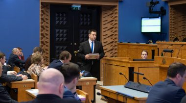 Prime Minister gave the Riigikogu an overview of the situation due to the spread of coronavirus