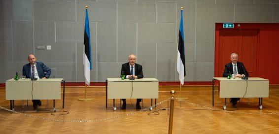 Riigikogu juhatus. Foto: Erik Peinar
