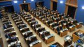 Riigikogu istung. Foto: Erik Peinar, Riigikogu Kantselei