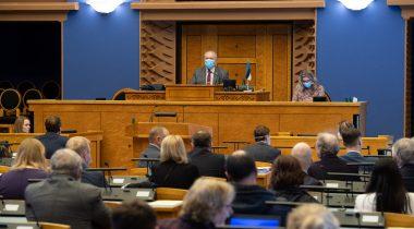 Рийгикогу принял постановление об использовании средств стабилизационного резерва. Foto: Riigikogu