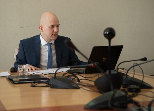 Arhiivifoto sotsiaalkomisjoni istungist. Foto: Erik Peinar
