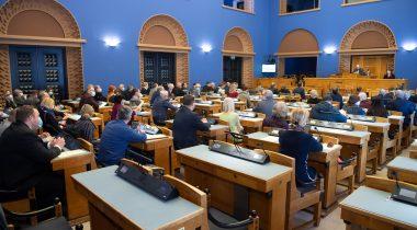 Первое чтение в Рийгикогу прошел законопроект об удаленной работе парламента. Foto: Erik Peinar