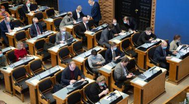 Riigikogu istung. Foto: Riigikogu
