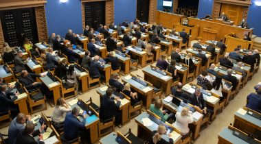 The Riigikogu passed an Act regulating the sublease of land. Photo: Erik Peinar