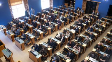 The Riigikogu legalised holding plenary sittings by remote attendance
