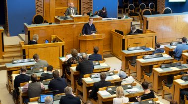 Riigikogu amended the Electronic Communications Act. Photo: Erik Peinar