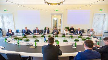 Riigikaitsekomisjoni kohtumine peaministriga Foto: Riigiikantselei