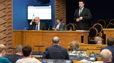 Riigikogu infotund - Jüri Luik, Tanel Kiik ja Jüri Ratas