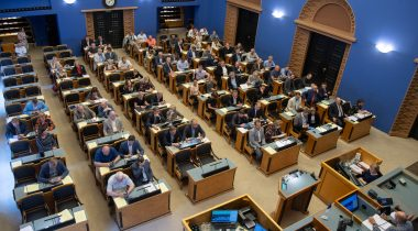 The Riigikogu passed 16 Acts. Photo: Erik Peinar