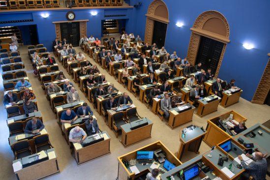 The Riigikogu passed 16 Acts. Photo: Erik Peinar