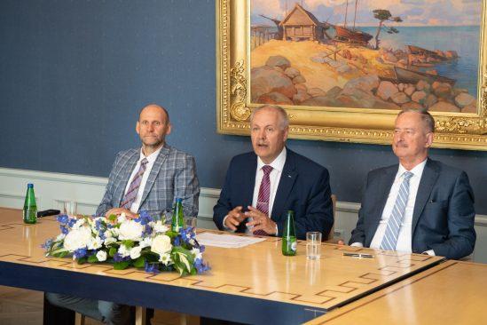 Riigikogu juhatuse pressikonverents. Foto: Erik Peinar