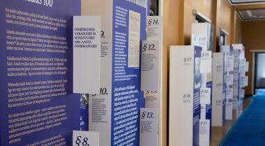 Näitus Põhiseadus 100