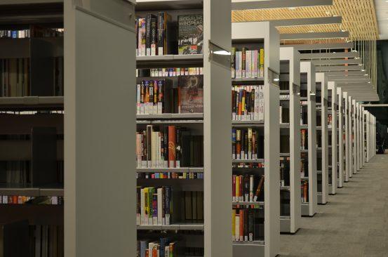 Ülikooli raamatukogu. Foto: Pixabay