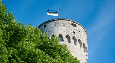 Flag of Estonia. Photo: Erik Peinar