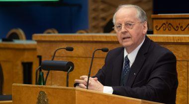 Председатель комиссии Рийгикогу по иностранным делам Энн Ээсмаа. Foto: Erik Peinar