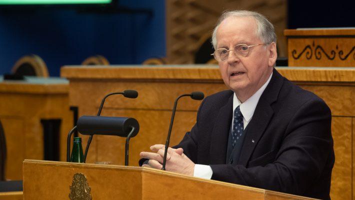 Väliskomisjoni esimees Enn Eesmaa. Foto: Erik Peinar