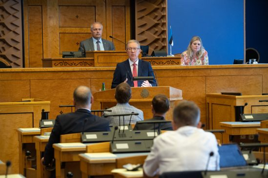 Väliskomisjoni esimees Marko Mihkelson. Foto: Erik Peinar