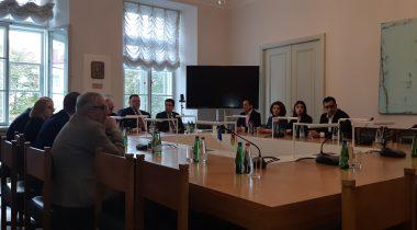Eesti-Aserbaidžaani parlamendirühma kohtumine