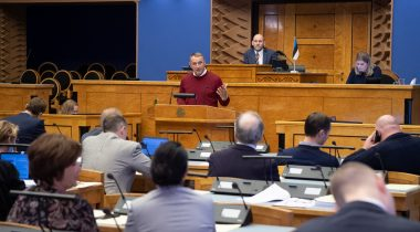 The Bill on Amendments to the Traffic Act passed the second reading in the Riigikogu. Photo: Erik Peinar