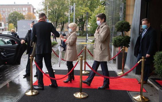 Eestisse saabus Šveitsi parlamendi esimees