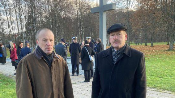 Leo Kunnas ja Johannes Kert. Foto: Aivar Engel
