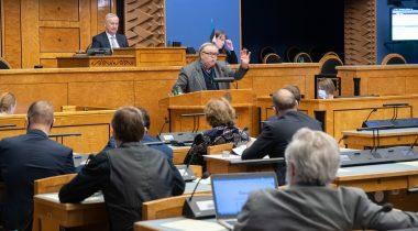 Kultuurikomisjoni esimees Aadu Must õpetajate järelkasvust
