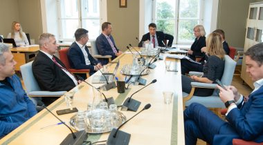 Põhiseaduskomisjoni istung Alar Lanemani juhtimisel