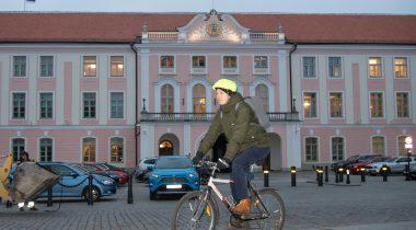 Jalgrattasõprade toetusrühma esimees on Raimond Kaljulaid. Foto: Erik Peinar