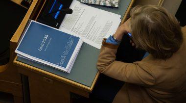 """Riigi pikaajaline arengustrateegia """"Eesti 2035"""". Foto: Erik Peinar"""