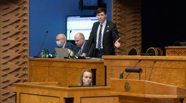 Rahandusminister Martin Helme infotunnis