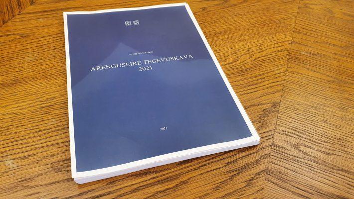 Arenguseire tegevuskava 2021. Foto: Riigikogu Kantselei