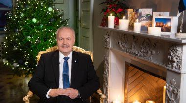Uusaastatervitus 01. jaanuaril 2021 Henn Põlluaas, Riigikogu esimees