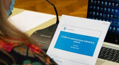 На открытом заседании комиссия по социальным делам обсудит изменения в поставках вакцин. Foto: Erik Peinar