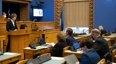 The Riigikogu discussed the population health development plan as a matter of significant national importance. Photo: Erik Peinar
