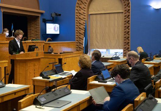Riigikogu arutas rahvatervise arengukava olulise tähtsusega riikliku küsimusena. Foto: Erik Peinar