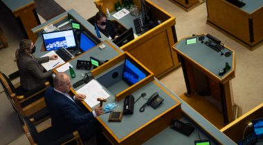 The Riigikogu made amendments to the Courts Act. Photo: Erik Peinar