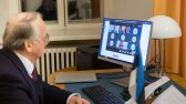 Balti riikide parlamentide väliskomisjonide esimeeste kohtumine USA Esindajatekoja väliskomisjoni uue esimehe Gregory Meeksiga. Foto: Erik Peinar