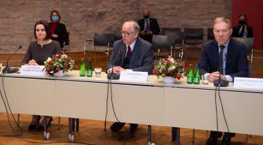 Väliskomisjoni avalik istung, kohtumine Valgevene opositsiooni liidri Svjatlana Tsihhanovskajaga. Foto: Erik Peinar
