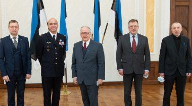 Riigikaitsekomisjoni liikmete kohtumine NATO arendusväejuhatuse ülema kindral André Lanataga