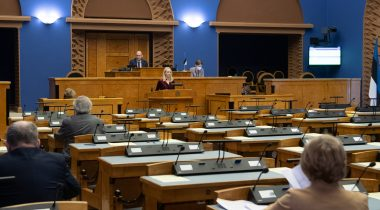 A Bill amending the Social Welfare Act passed the second reading in the Riigikogu. Photo: Erik Peinar