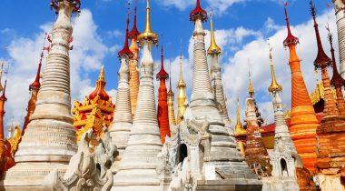 Pagoda tempel Foto: Pix