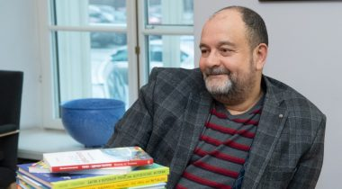 Eesti keele õppe arengu probleemkomisjoni esimees Mihhail Stalnuhhin. Foto: Erik Peinar