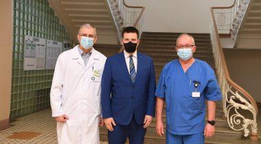 Riigikogu esimees Jüri Ratas kohtumisel Narva haiglas